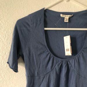 Blue Grey Knit Top NWT